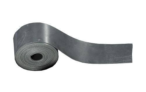 Kielstreifen PVC, grau oder schwarz, L= 5,50m, B= 5cm